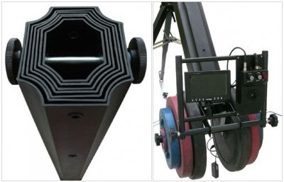Комплект Proaim 22ft Octagonal Crane, 150mm Tripod Stand, Gold Pan Tilt Head, D-33 Dolly (Wonder Package)
