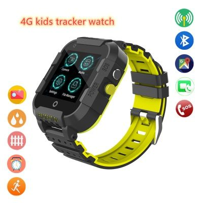 Часы Smart Baby Watch Wonlex KT12 черные