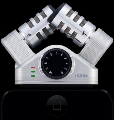 Рекордер для iPhone Zoom iQ6